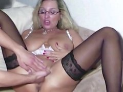 big boobs blonde fetish fingering