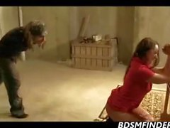 bondage stockings spanking milf fetish
