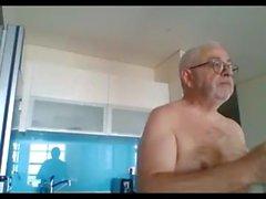 gai pipe branlette masturbation grand-père gay