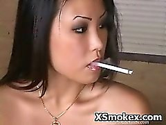 asian fetish smoking