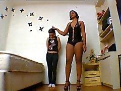 amateur tits black and ebony