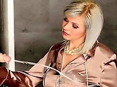 blonde bukkake european fetish
