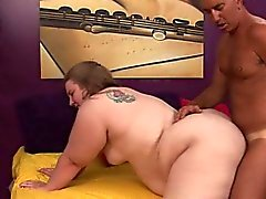 bbw big boobs blondine blowjob fett