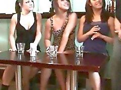brunette femdom fetish handjob