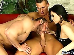 big cocks bisexual blowjob brunette doggystyle