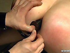 couple anal sex domination bondage spanking