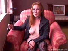oldspunkers gammal mamma mor cougar