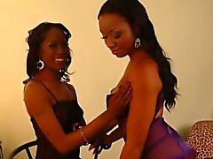 Imani and Dariel lick each other's wet cunts