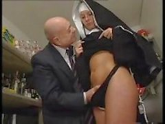 fingering kissing handjob uniform