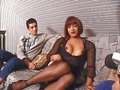 threesome blowjob anal fuck