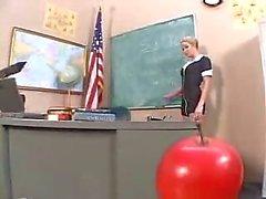 bionde aula insegnanti