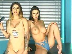 babes brunettes big boobs briten