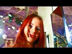 caucasian lingerie redhead solo girl