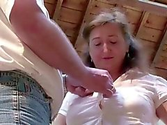 big boobs blowjob brunette fat fingering