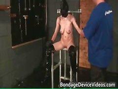 amateur babe bdsm blonde bondage