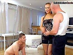 cuckold femdom cuckold-humiliation humiliation