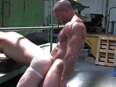 гей без седла пап групповой секс мышца