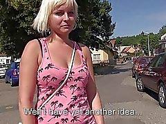 Sexy Eurobabe Alexis Leone public sex
