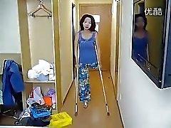 babes chino fetichismo del pie
