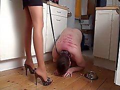 amatööri bdsm femdom jalka fetissi saksa