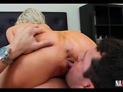 big boobs blonde blowjob handjob hd
