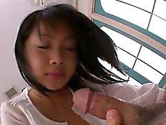 asiático grandes galos boquete facial