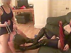 femdom fetiche por pés lésbicas