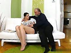 anal ass brunett