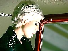 babe blonde masturbation nylon toys