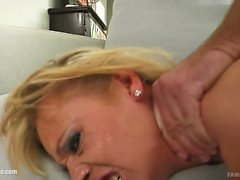 ass blonde blowjob doggystyle