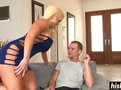 Blonde Alura needs a long cock