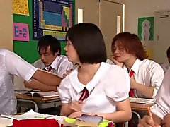 asian college fingering hd