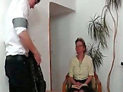 blowjob granny mature old young