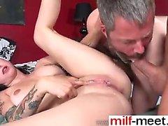 bisexual blowjob brunette fingering masturbation
