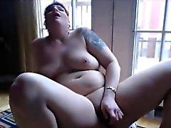 dilettante bbw grandi tette masturbazione milf