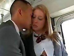 asian interracial public nudity