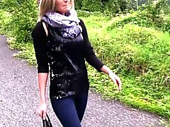 amateur big boobs blonde hd outdoor