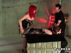 bdsm femdom fetish redhead