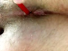 amateur anal fingering massage masturbation