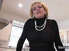 big boobs blonde british femdom
