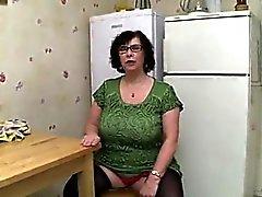 Huge bbw mature slut gets her fucked har that is fat