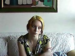 amateur blonde casting czech