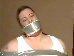 bdsm gagged big-busted bbw bondage