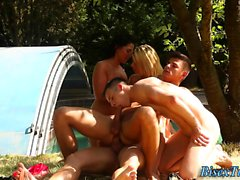 babe bisexual blonde blowjob