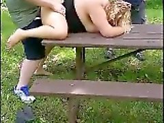 amateur blonde doggystyle fat outdoor