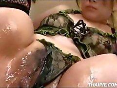 medias asiático tailandés fetiche
