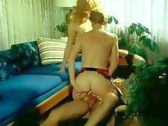 Vintage Footjob scene #01 - Aunt Peg (1980)