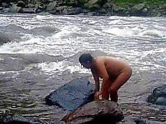 asiático loiras indiano amadurece chuveiros