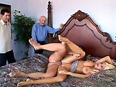 big boobs blonde blowjob cuckold