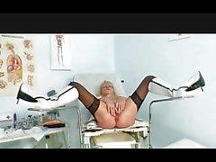 Granny Nurse Gyno Look